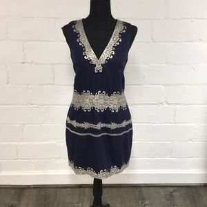 French Connection Dresses - French Connection Embroidered Mini Dress.
